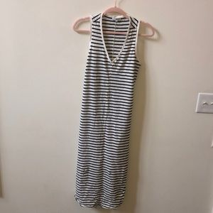 Z-SUPPLY Black and White Striped dress